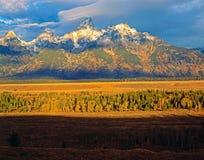 Grand Teton,Wyoming Royalty Free Stock Photos