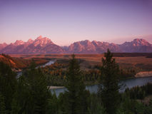 Grand Tetons Royalty Free Stock Photos