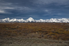 Grand tetons Stock Image