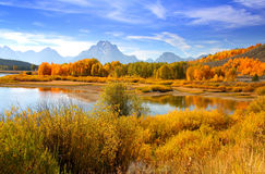 Grand tetons Stock Photography