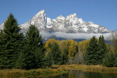 Grand Tetons royalty free stock photo