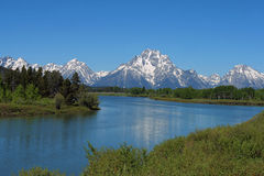 Grand Tetons Royalty Free Stock Photography
