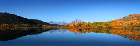 Grand Tetons national park Royalty Free Stock Photo