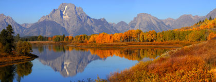Grand Tetons national park Stock Image