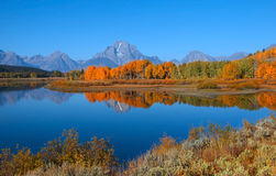Grand Tetons national park Royalty Free Stock Photography