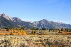 Grand Tetons national park Royalty Free Stock Image