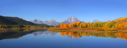 Grand Tetons Panorama Royalty Free Stock Images