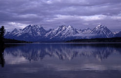 Grand Tetons Portraits Royalty Free Stock Photos