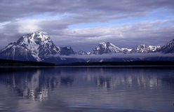 Grand Tetons Portraits Stock Photography