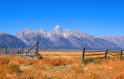 Grand Tetons Stock Photo