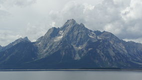 The Grand Tetons Royalty Free Stock Photo