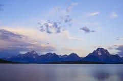 Grand Tetons at sunrise Royalty Free Stock Image