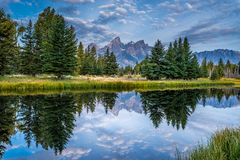 Grand Tetons view Stock Images