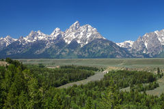 The Grand Tetons Royalty Free Stock Images
