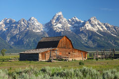 The Grand Tetons in Wyoming Royalty Free Stock Photography