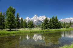 The Grand Tetons in Wyoming Royalty Free Stock Image