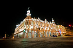 Grand théâtre de La Havane, aka de Lorca Theatre, à La Havane, le Cuba à n images stock