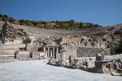Grand Theater of Ephesus Ancient City Stock Image