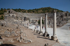 Grand Theater of Ephesus Ancient City Stock Images