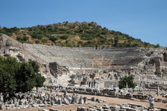 Grand Theater of Ephesus Ancient City Stock Photos
