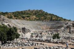 Grand Theater of Ephesus Ancient City Stock Photos
