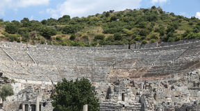Grand Theater of Ephesus Ancient City Royalty Free Stock Images