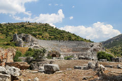 Grand Theater of Ephesus Ancient City Royalty Free Stock Photo