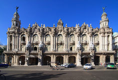 Grand Theater of Havana. Royalty Free Stock Images
