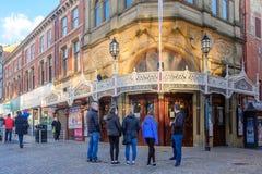 Grand Theatre in Blackpool stock photos