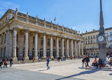 Grand Theatre de Bordeaux. Aquitaine. France. Royalty Free Stock Photography