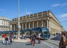 Grand Theatre de Bordeaux. Aquitaine. France. Stock Photography