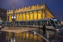 Grand Theatre de Bordeaux aquitaine francia fotos de archivo