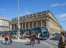 Grand Theatre de Bordeaux aquitaine francia fotografía de archivo