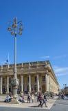 Grand Theatre de Bordeaux aquitaine francia foto de archivo libre de regalías