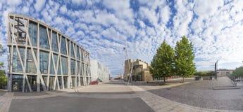 Grand Theatre de provence and black flag theater  in Aix en Prov Stock Photo