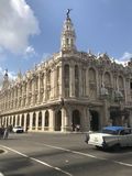 Grand Theatre of Havana Royalty Free Stock Photography