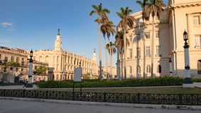 Grand Theatre and Part of Capitol, Capitolio, Havana, Cuba stock photos