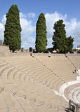 Grand Theatre in Pompeii Royalty Free Stock Images