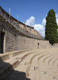 Grand Theatre in Pompeii Stock Photo