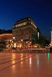 Grand Theatre square, Bordeaux Stock Image