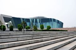 grand theatre in wuhan Stock Photos