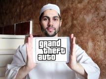 Grand Theft Auto, GTA, logotipo do jogo Fotos de Stock Royalty Free