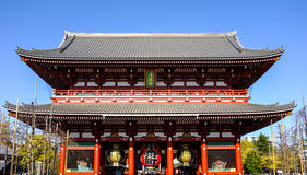Grand Sensoji Temple of Tokyo, Japan Royalty Free Stock Image