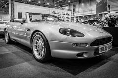 Grand tourer car Aston Martin DB7 Volante. Stock Image