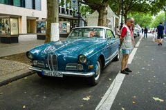 Grand tourer car BMW 503, 1957 Royalty Free Stock Photography