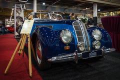 Grand tourer car BMW (EMW) 327/328 convertible, 1952. Royalty Free Stock Photo
