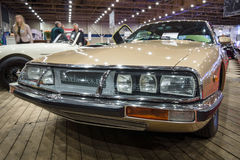 Grand tourer car Citroen SM, 1972. Stock Photos