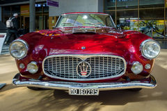 Grand tourer car Maserati 3500 GT Tipo 101, 1958. Royalty Free Stock Photos