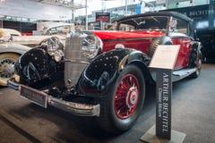 Grand touring car Mercedes-Benz 500K (W29) Cabriolet C, 1934. Royalty Free Stock Photos