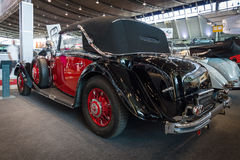Grand touring car Mercedes-Benz 500K (W29) Cabriolet C, 1934. Royalty Free Stock Images